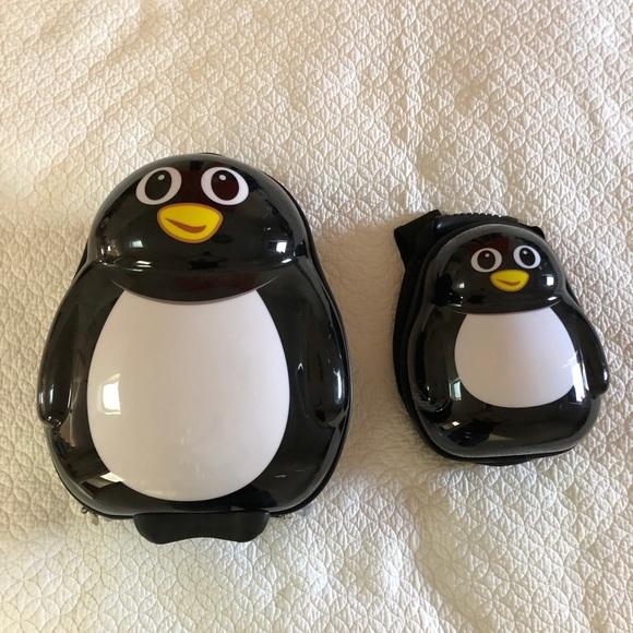 little buddies Other - Little Buddies kids penguin suitcase & backpack